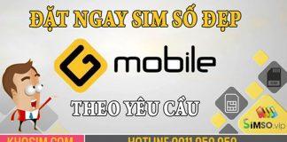 Sim Gmobile số đẹp giá rẻ nhất thị trường